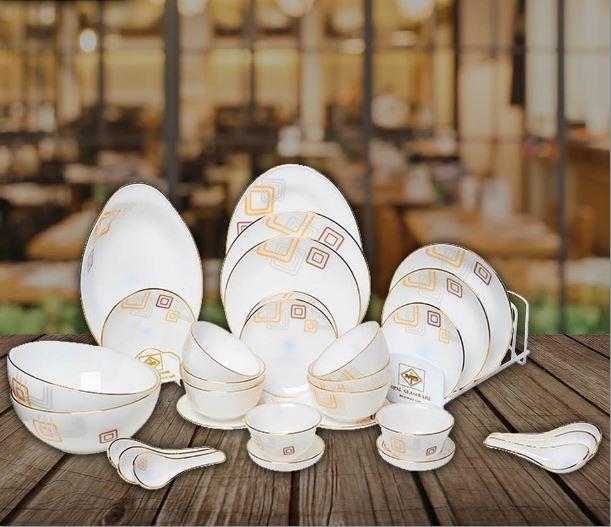 Bộ bàn ăn Opalglass AS
